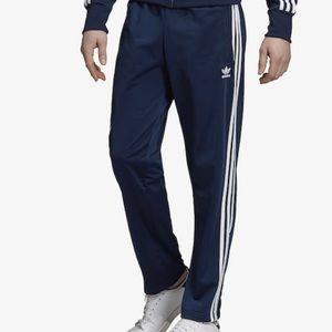 Blue Adidas men's track pant size L